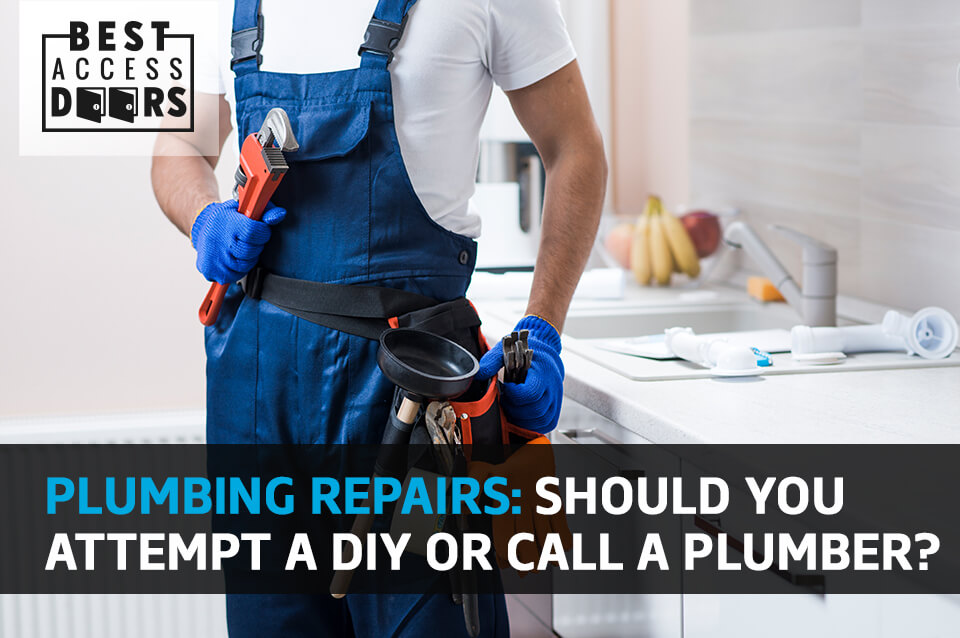 Plumbing Repairs: Should You Attempt a DIY or Call a Plumber?